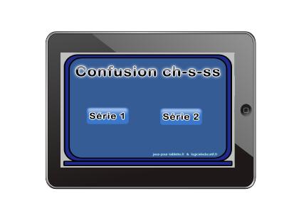 Confusion de sons ch, s, ss
