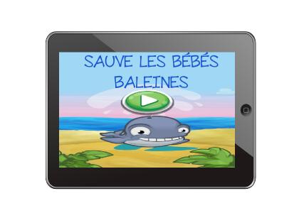 Sauve les bébés baleines
