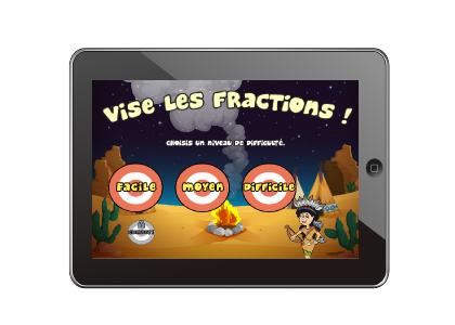 Vise les fractions