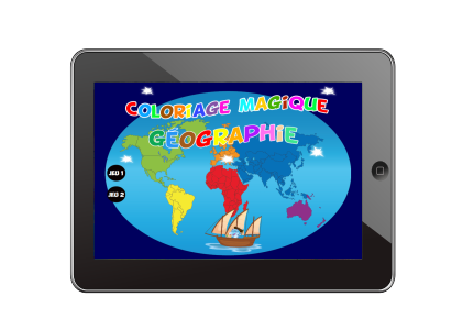 coloriage magique geographie