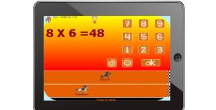 Calcul jeux pour tablette - Jeux en ligne tables de multiplication ...