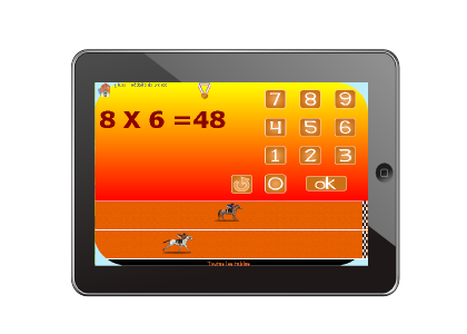 Tables de multiplications jeux pour tablette - Jeux gratuit de table de multiplication ...